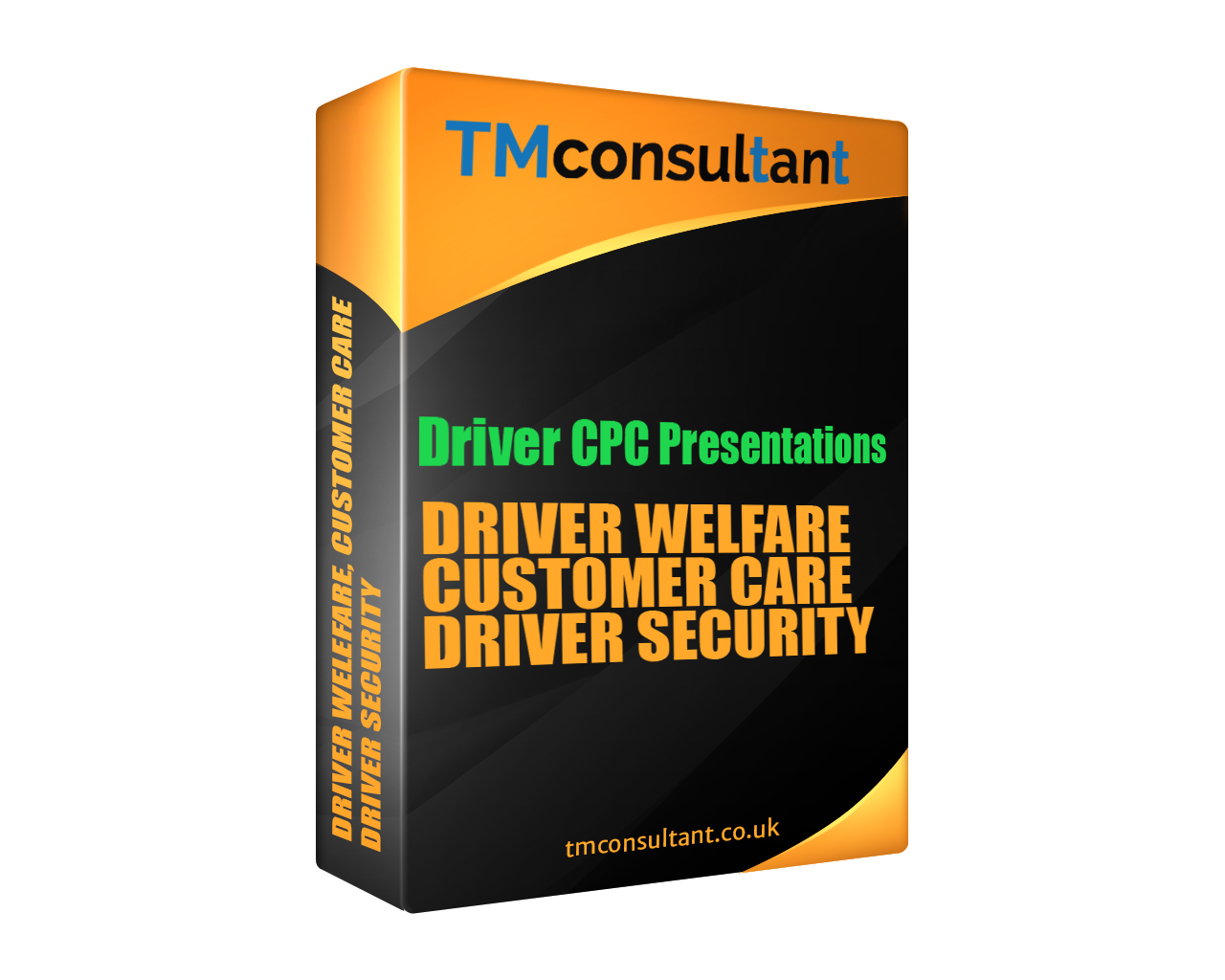driver cpc presentations DRIVER WELFARE CUSTOMER CARE AND DRIVER SECURITY