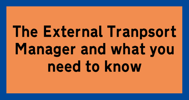 external transport manager
