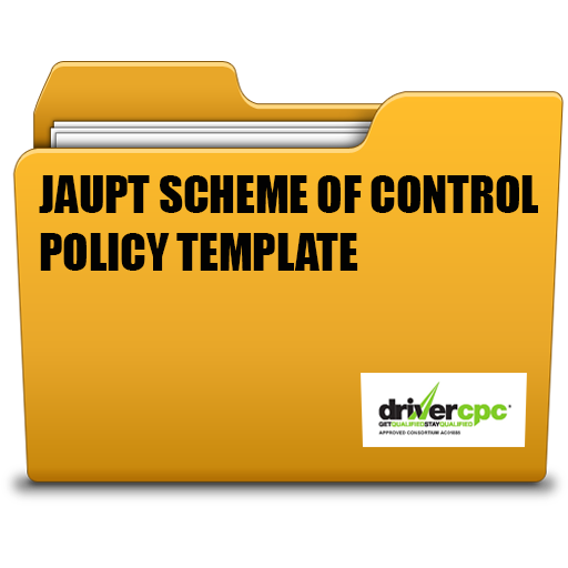 Transport manager and fleet operators toolbox jaupt scheme of control policy template pronofoot35fo Image collections