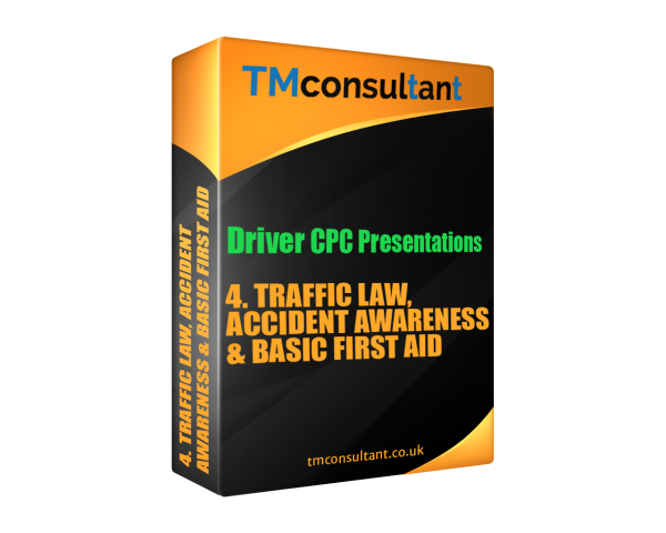 Driver CPC Training Presentation Traffic Law, Accident Awareness & Basic First Aid