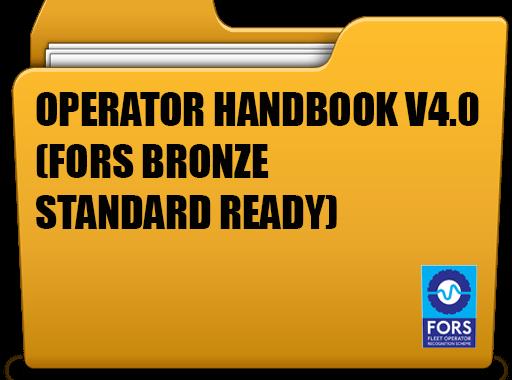 FORS Bronze Standard VS4.0 operator handbook