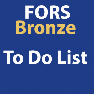 FORS Bronze To Do List
