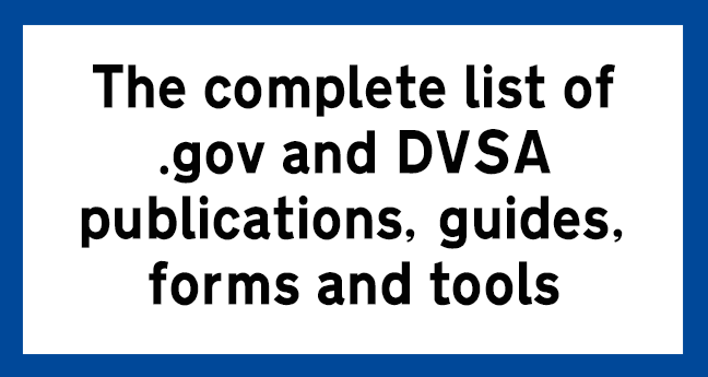 DVSA-publications-guides-forms-tools