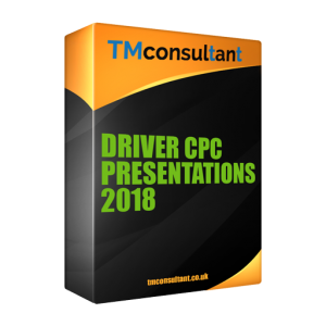 Driver CPC Presentations Course Material 2018