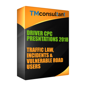 Traffic Law Incidents and Vulnerable Road Users 2018