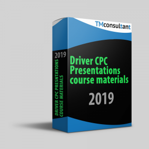 Driver CPC Presentations Course Material 2019