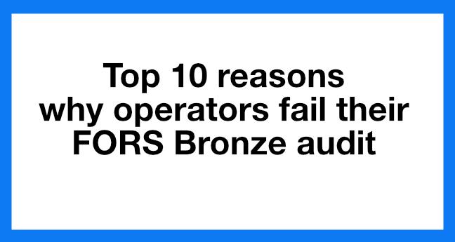 FORS Bronze audit