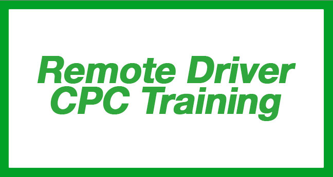 remote driver cpc training